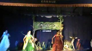 Ghana Shyama Vrindarangal Dance by Sandra,Roshni,Rishika