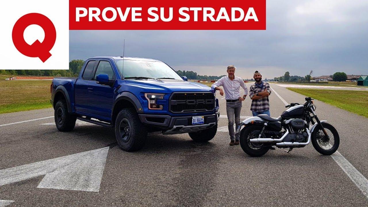 Ford F 150 Raptor La Prova Su Strada Quattroruote Youtube