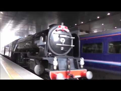 "Steam 60163 Tornado @ Reading station 1/3/17 Paddington-Cardiff ""St David"""