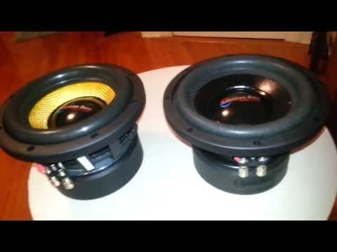 American Bass VFL844 VFL 8d4 Comparision To XD-8 Xd-844