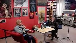 Heidi Köngäs Käpylän kirjastossa 27.2.2018