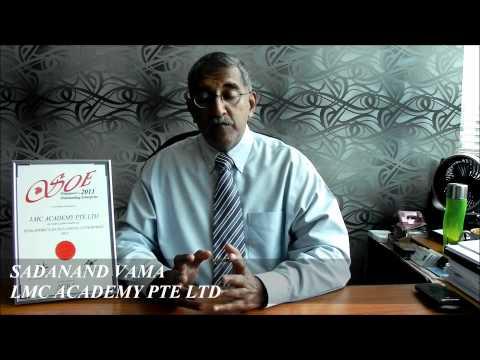 Singapore's Outstanding Enterprise 2011 - LMC Academy Pte Ltd