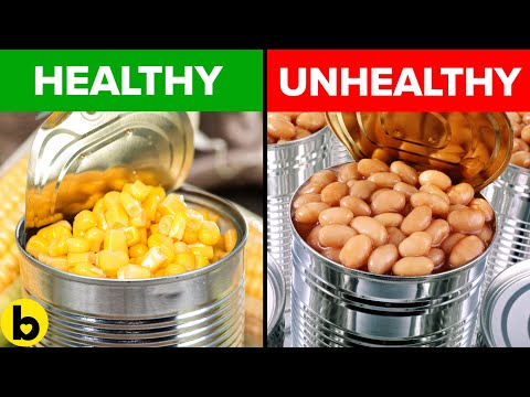 13 Canned Foods That Are Actually Healthy And 5 That Are Not