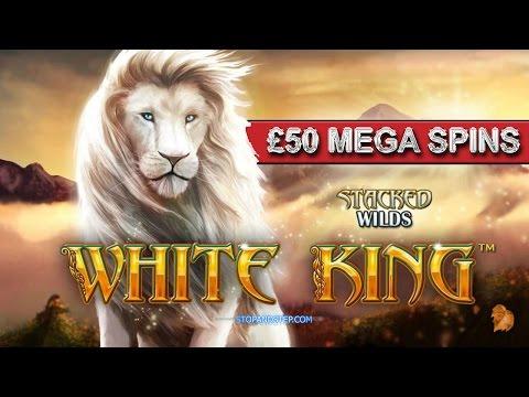 Slot Machine High Limit - WHITE KING - £50 Mega Spins