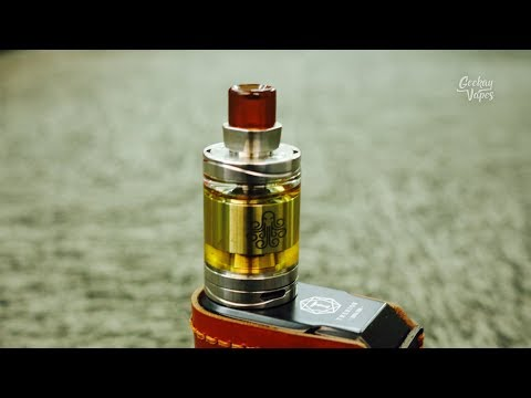 Cthulhu Hastur MTL Tank Review - With Replaceable Airflow Inserts!