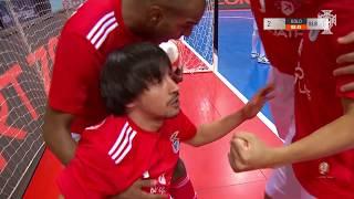 Liga Sport Zone, 5.ª Jornada: Viseu 2001 2-3 SL Benfica