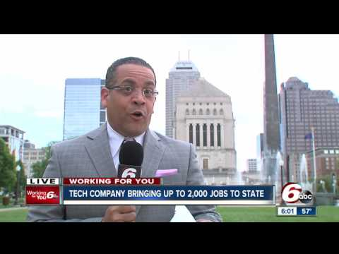 Tech company bringing up to 2,000 jobs to Indiana