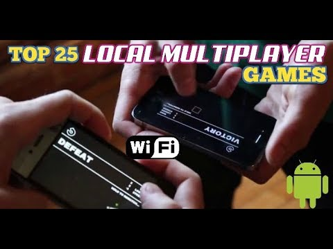 Top 25 BEST LOCAL multiplayer games for Android via WiFi