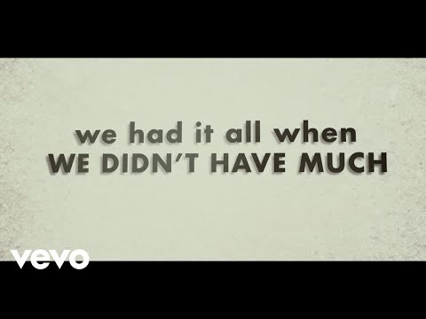 Justin-Moore-We-Didnt-Have-Much-Lyric-Video