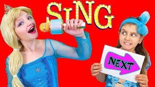 The FUNNIEST Singing Auditions Contest Show for kids   Super Elsa