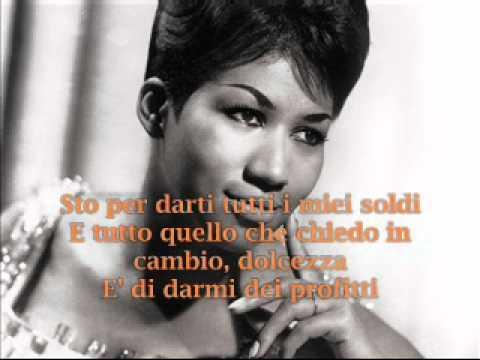 Aretha Franklin- Respect text traduzione testo