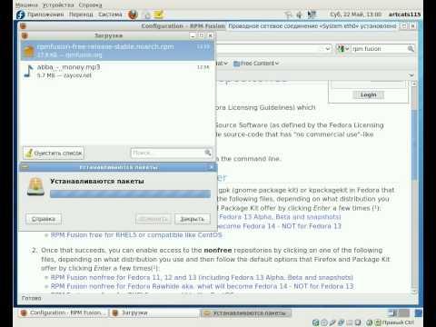 Fedora codecs install