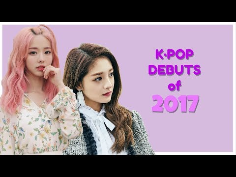 K·POP Group Debuts  JAN - JUN