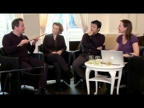 In conversation: Daishin Kashimoto, Emmanuel Pahud, Maja Avramović and Sarah Willis
