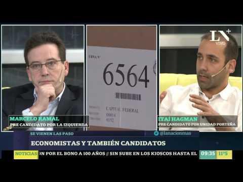 Economistas y también candidatos: Itaí Hagman y Marcelo Ramal en Más Despiertos