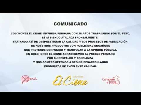 COMUNICADO COLCHONES EL CISNE (18-10-15)
