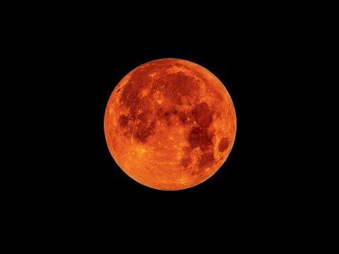 КРАСНАЯ КРОВАВАЯ ЛУНА | Ужгород | Лунное затмение 5.07.2020