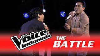 "Maruli Liasna vs. M. Habib ""Mawar Merah"" | The Battle | The Voice Indonesia 2016"