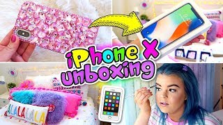 iPhone X Unboxing! + SO MANY ADVENT CALENDARS!