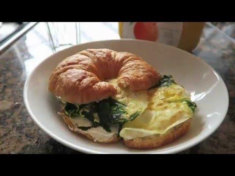 Eggs & Croissant | Breakfast #1