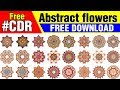 Vector Flowers Set Gift For You | Corel Draw in Hindi, Urdu