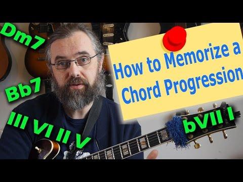 Memorizing Chord Progressions and Jazz Standards