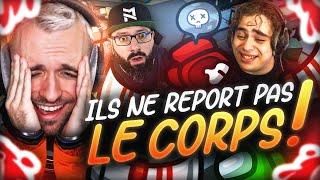 ILS NE REPORT PAS LE CORPS ! 😱 (Among Us)