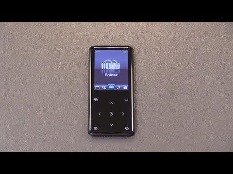 K-Brave MP3 Player Touchscreen 8GB mit Lautsprecher und Radio