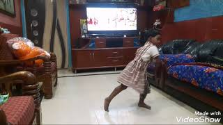3years baby Dancing rowdy Baby song