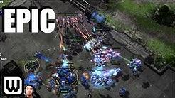 Starcraft 2: Most EPIC Protoss vs Terran 2020?! (Showtime vs Cure)