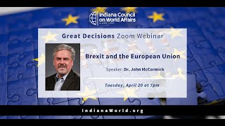 Great Decisions: Brexit and the European Union