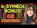 88 Fortunes Slot Machine! 4 Symbol Bonus! $8.80 Bets Only