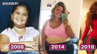 A los 19 era la más gorda de la escuela, pero 2 años después...