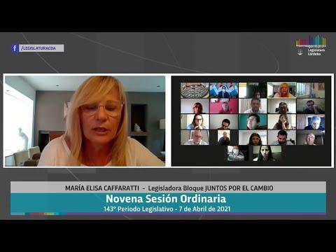Novena Sesión Ordinaria 143 Periodo Legislativo -  7 de Abril 2021