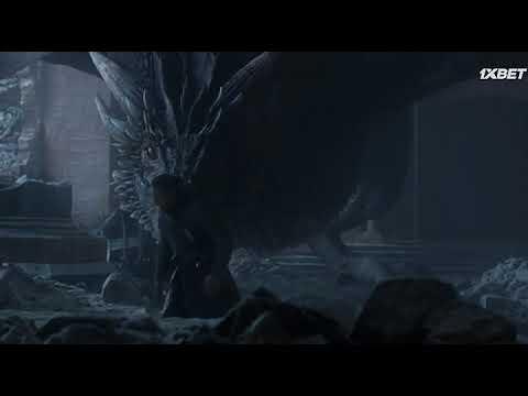 Как Дрогон спалив Железный Трон Игра престолов 8 сезон 6 серия