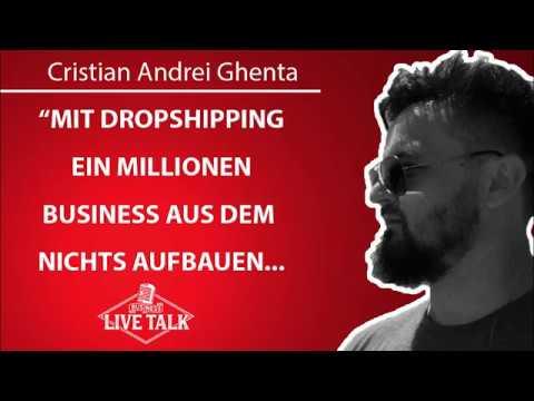 Cristian Andrei Ghenta - vom Flüchtling zum Dropshipping Millionär | Business Live Talk #10