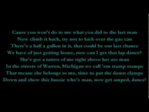 White Trash Party - Eminem (Lyrics) HD