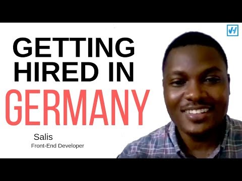 How Salis got hired in Berlin as a Frontend Developer