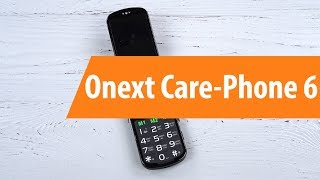 Распаковка Onext Care-Phone 6 / Unboxing Onext Care-Phone 6