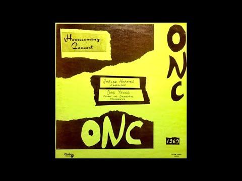 Olivet Nazarene University Homecoming Concert 1969 LP [Complete Album]