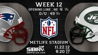 NFL Free Picks 2012 Week 12 Thanksgiving Games: New England Patriots vs New York Jets