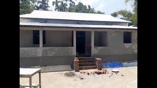 টিন সেড বাড়ির ডিজাইন    tin shed house design    গ্রামের টিন সেড বাড়ির ডিজাইন ও খরচ ৷