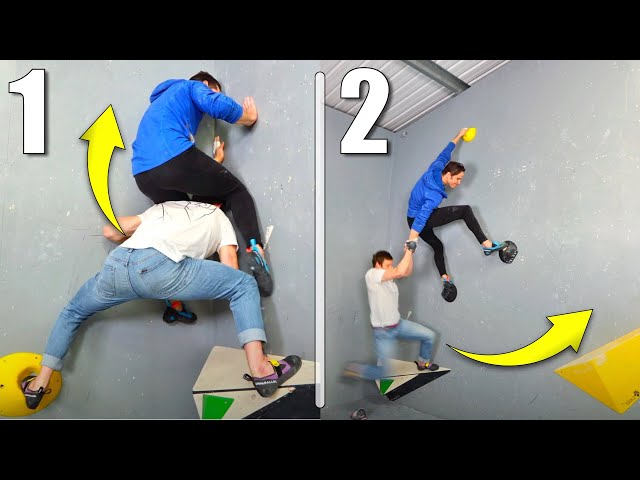 How We Climbed the Impossible Boulder!