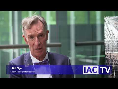 Bill Nye interviewed by IAC TV