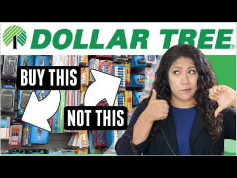 Testing DOLLAR TREE School Supplies / Best And Worst Dollar Store Products