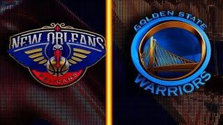 GOLDEN STATE WARRIORS VS NEW ORLEANS PELICANS! NBA 2K20