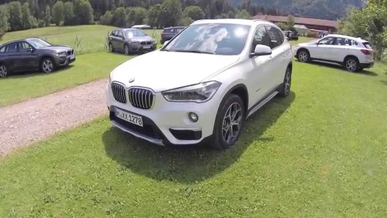 bmw x1 2015 presentation dimensions habitacle coffre. Black Bedroom Furniture Sets. Home Design Ideas