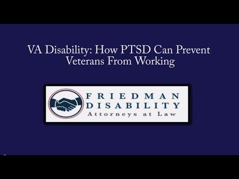 VA Disability: How PTSD Often Prevents Veterans From Working