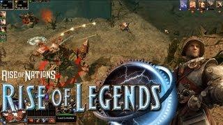 Rise of Legends - Vinci Gameplay [1080p]