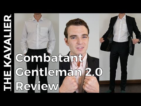 Combatant Gent 2.0 - Shirting and Suit Unboxing and Review